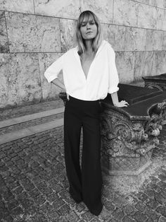Jeanette Madsen styles 'The White Shirt' three ways