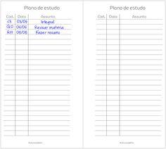 planner de estudos em português, planner para faculdade, plano de estudo, organização nos estudos, freebie para planner, planner em português, arquivo para planner,