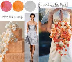 Encontramos na nossas buscas pelas tendências de decoração o site: Wedding Sketchbook. É uma ótima fonte de inspiração para verem as combinações das cores e que estilo mais agrada com o tipo de casamento que escolheu. Confira qual destas combinações e paletes de cores para casamentos faz a sua cabeça e claro, nao deixe de conferir as tendências em cores em decoracao para 2012!