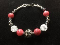 Jewelry/Bracelet/ For Goddesses/ Pink by CatchyTreasures on Etsy