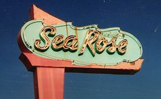 The Sea Rose Motel in North Wildwood, NJ, 2004. Our summer house was right behind this motel!