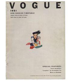 Erwin Blumenfeld: Vogue US January 1, 1951. © The Estate of Erwin Blumenfeld, Henry and Yorick Blumenfeld collection.