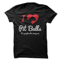 "Imagine how great the world would be if people were as loving, loyal, and forgiving as dogs? This Design Reads ""I Love Pit Bulls – It's people who annoy me!"" A big thank you to our community for helping us …"