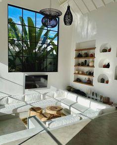 Home Room Design, Dream Home Design, Sunken Living Room, Bali Style Home, Bali House, Bohemian Lifestyle, Lifestyle Blog, House Rooms, Interior Design Living Room