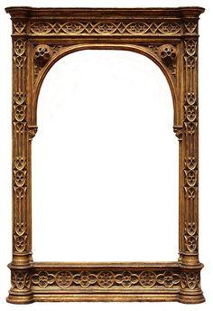 Frame 14 - Medieval Frame for Icon Vintage Frames, Vintage Prints, Antique Frames, Printable Frames, Borders And Frames, Collage Frames, Background Vintage, Miniature Furniture, Vintage Ephemera