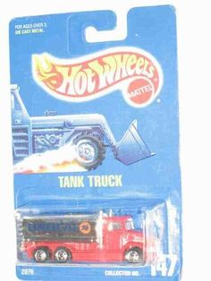 #147 Tank Truck Basic Wheels Collectible Collector Car Mattel Hot Wheels 1:64 Scale by Mattel. $4.99. A Perfect Addition To Any Hot Wheels Collection!. Fun For All Ages! Serious Collectors And Kids Alike!. Perfect Hot Wheels Diecast for every collector!. Diecast Metal Hot Wheels Car Perfect For That Hot Wheels Collector!. Great Investment For Any Hot Wheels Collector.. #147 Tank Truck Basic Wheels Collectible Collector Car Mattel Hot Wheels