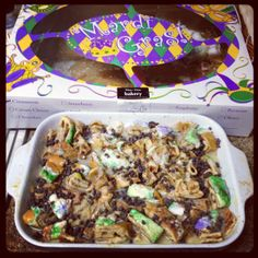 King Cake Bread Pudding Recipe from Show Me Your Nola!!