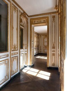 Corridors in the Palace of Versailles