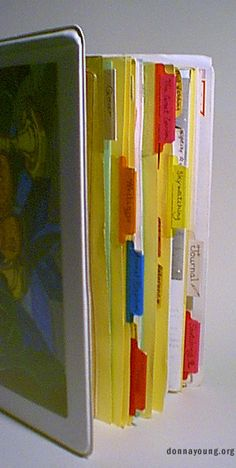 Good ideas for organizing and keeping a nature journal (including ways to file specimens)