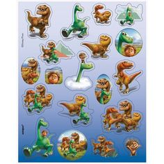 Check out The Good Dinosaur Sticker Sheets (4 Count) - Wholesale Party Supplies…