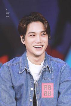 that smile always makes me complete ☺ Kai | Exo