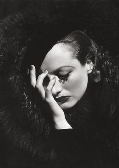 Joan Crawford by George Hurrell, 1932                                                                                                                                                                                 More