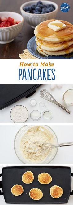 How to Make Pancakes: Flip your own flapjacks like a pro.