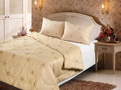 Comforter sheep wool all-season, upper material 100% cotton #NoBrend #Forall