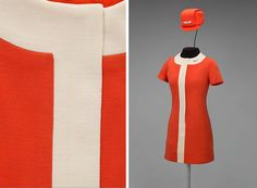 Air travel was a bit different in 1968 when this uniform designed by Jean Louis…