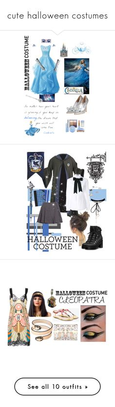 """cute halloween costumes"" by keyladiaz022 ❤ liked on Polyvore featuring Disney, Dolce&Gabbana, Van Cleef & Arpels, WithChic, Bulgari, Givenchy, Michael Valitutti, Gucci, Dasein and Marvel"