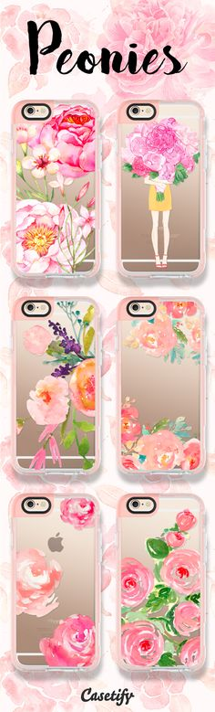 For all the peonies lovers! Tap this link to shop the cases: https://www.casetify.com/artworks/yxwQhqcbI7 | @casetify