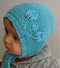 Ravelry: Petites Feuilles Bonnet pattern by Lisa Chemery