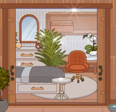 Free House Design, Sims House Design, Bedroom Drawing, Indie Room Decor, Cartoon Background, Anime Life, Toddler House Bed, Cute Sketches, Home Decor
