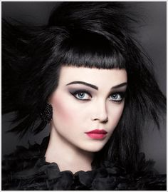 Dark & pretty // Sephora Fall Ad 2012
