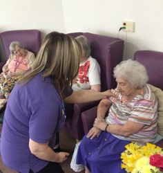 Activity brings smells to life at Birch Green - Birch Green Care Home Skelmersdale