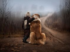 Mother's Breathtaking Photos Capture Her Young Sons' Amazing Ability To Connect With Animals