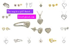 Looking for a great Valentine's Day Gift? Jewelryland offers an awesome selection of heart jewelry in all price ranges. Check out the rest of our jewelry at Jewelryland.com