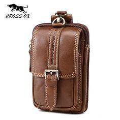 CROSS OX новые летние из натуральной яловой кожи ключ бумажник для мужчин старинные Воск мужская кожаная поясная сумка Монета Организатор SL418M