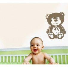 Teddy bear wall decal #6