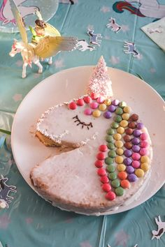 Quick & easy unicorn cake & other tips for children's birthday parties - Spiel 5th Birthday Party Ideas, Birthday Cake Girls, Birthday Parties, Easy Unicorn Cake, Cake Decorating For Kids, Little Mermaid Cakes, Food Humor, Cooking With Kids, Cute Food