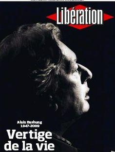 """La Une de """"Libé"""", un privilège réservé aux très grands (Gainsbourg, Kurt Cobain, Mickael Jackson)_16 Mars 2009"""