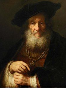 'New' Rembrandt portrait to be unveiled at Woburn Abbey in Bedfordshire this week. Newly authenticated the painting known as The Old Rabbi was last seen in 1950.
