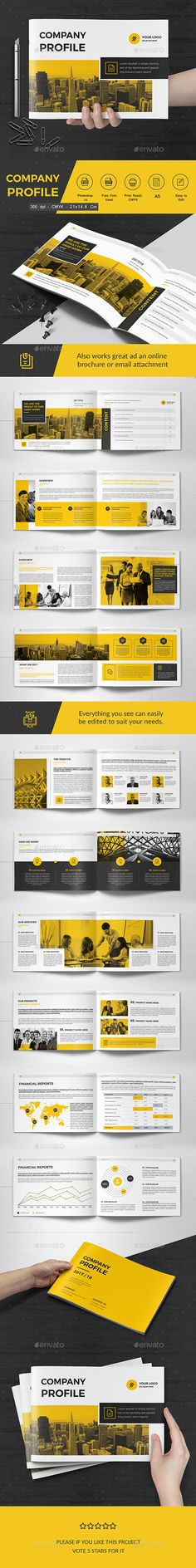 Co Landscape Brochure 22 Pages - Corporate Brochures Download here : https://graphicriver.net/item/co-landscape-brochure-22-pages/20228067?s_rank=44&ref=Al-fatih #brochure #brochure design #brochure template  #design #premium design #bifold #trifold