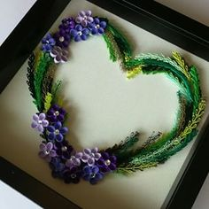 quilling on canvas - Google Search