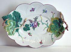 Chelsea Porcelain Manufactory / Platter, 1744/50