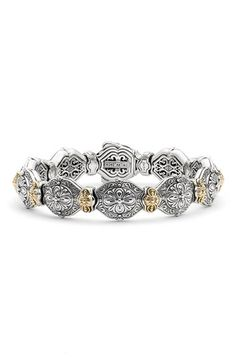 Konstantino 'Silver & Gold Classics' Link Bracelet available at #Nordstrom
