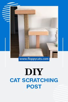 Tired of your furniture getting ruined by your cat clawing it? You can skip the expensive scratching posts and make your own at home! Learn how you can make a DIY scratching post that even looks awesome in your home and your cats will love! #cats #scratchingpost #DIY Homemade Cat Toys, Diy Cat Toys, Diy Cat Scratching Post, Best Interactive Cat Toys, Best Cat Litter, Cat Food Brands, Best Cat Food, Cat Products, Cat Scratcher
