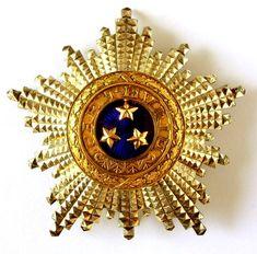 LLETTLAND - Orden der Drei Sterne Lettland Kreuz. 2. Klasse, 1. Modells 1924-1940