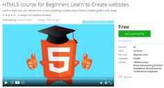 HTML5 course for Beginners Learn to Create websites  http://hii.to/NybbHancx  #website #design #html5
