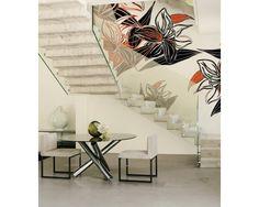 Abstrakcyjny motyw kwiatowy? Czemu nie! Ekskluzywne tapety http://esencjadesign.pl/wall-deco-big-brand-10/2793-underground-exotic.html