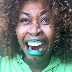 """GloZell Green announces her interview of President Obama....this guy we call president seriously shocks me everyday, he is having interviews with you tubers now and not even decent ones...she tells him in the interview that she has cut off all her husband hoods because she is scared of the """"Po Po's"""""""