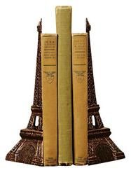 Cast Iron Eiffel Tower Bookends  $59.91
