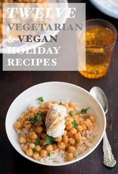 12 Vegan and Vegetarian Thanksgiving Recipes