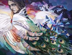Quilling © Yulia Brodskaya (Searched by Châu Khang) Yulia Brodskaya, Paper Art, Paper Crafts, Large Artwork, Quilling Designs, Paper Quilling, Portrait Art, Portraits, Woman Face