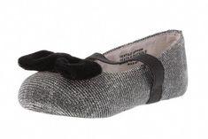 c4d6c0782dd Holiday Shoes For Kids: Stuart Weitzman metallic mesh flats, $36.  #StuartWeitzman Instappers