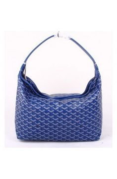 Goyard Fidji Hobo Bag Dark Blue