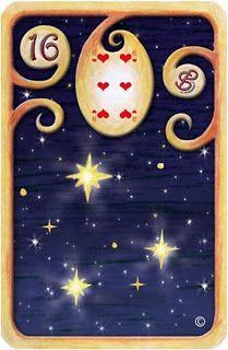 CARTOMANCIA MAGICA: Baralho Cigano Carta 16- Estrelas