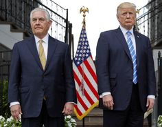 The White House has a plan to remove Secretary of State Rex Tillerson and elevate two close Trump allies to prominent positions. New Jersey, Best Brain Teasers, Rex Tillerson, Donald Trump Tweets, Trump International, Yes Man, Mike Pompeo, New York Daily News, North Korea