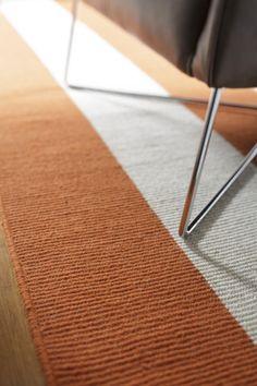 Bayliss Habitat rug in vibrant orange, stocked @ Choices Flooring Mackay