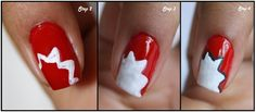 Simple Nail Art Design – Step by Step Process for Apply a layer ...